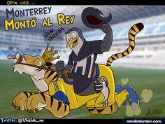 Otra vez Monterrey montó al Rey - Ubaldo - mediotiempo.com