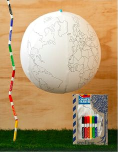 Bring Earth Day to life by exploring the globe with your little ones (right from your living room!) with our Color the Earth activity kit.