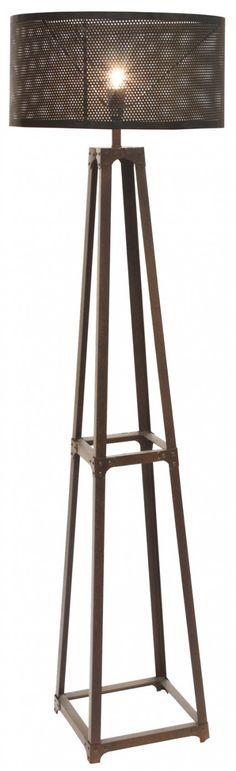Industrie metal floor lamp