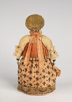 Doll Date: late 18th century Culture: Russian Medium: silk, linen, metal…