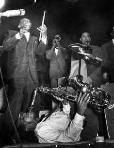 Ed van der Elsken - Lionel Hampton, big bang, 1956