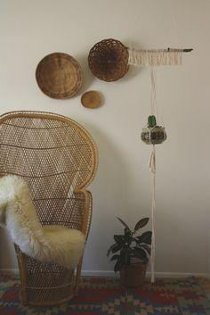 abilene / / simple and chic handmade macrame plant hanger