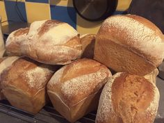 Toasting sourdoughs for community events.