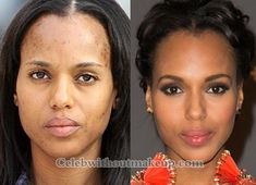 Kerry Washington before and after makeup. Born: 31 January, 1977 Citizenship: New York, U.S. Occupation: Actress  Years Active: 1994 – present