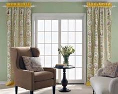 window treatments for french patio doors