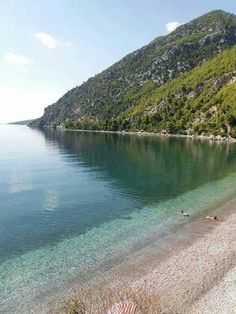 Dafni beach, Evia island, Aegean Sea, Greece
