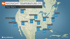 "US New Year's Eve forecast: Storms to take a break as cold air takes hold- By Alex Sosnowski - AccuWeather Storms will take a little break across the nation as colder air expands southward and eastward for New Year's Eve and New Year's Day. ""The vast majority of the natio..."