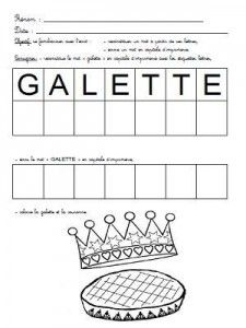 1000 images about roi renne galette on pinterest petite section chateaus and castles - Coloriage roule galette maternelle ...