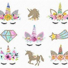 Licorne Sparkle Fun des Autocollants-Anniversaire Cadeau De Noël Noël Enfants