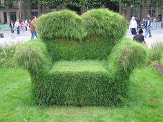 grass chair