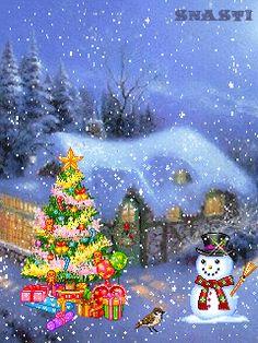 Imagenes de arboles de navidad en movimiento para google plus