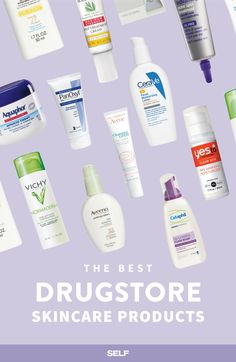 We talked to skin pros to find out what drugstore products they recommend to their patients and actually use themselves. You might want to bookmark this one for the next time you're in the beauty aisle.