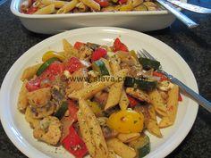schneller mediterraner Antipastisalat « kochen & backen leicht gemacht mit Schritt für Schritt Bilder von & mit Slava