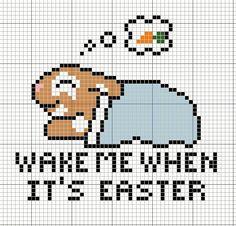 Buzy Bobbins: Cute Easter card cross stitch designs