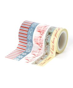 Look at this My Mind's Eye Joyous Decorative Tape Set on #zulily today!