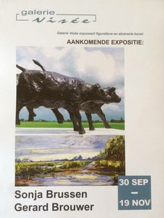 #DIEPENHEIM #expositie #GalerieVisee   Zondag 2 oktober om 15.00 uur opening van Sonja Brussen Plein Air schilder uit Lochem met ook werken uit Twente en de Achterhoek en Beeldhouwer Gerard Brouwer met mooie Hollandse beelden.