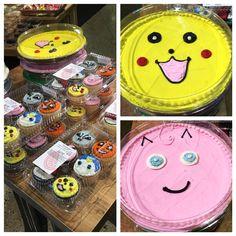 Pokemon Cakes and Cookies