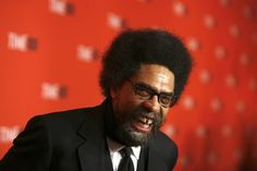 College professor, Dr. Cornel West, arrives for the Time 100 Gala in New York May 5, 2009. REUTERS/Lucas Jackson (UNITED STATES ENTERTAINMENT) - RTXERU5