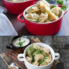 PRODUCT DESCRIPTION: Dumplings mold is so easy and quick to use. You just place a dough sheet on a mold, add filling in every opening, then cover with another Homemade Dumplings, Your Recipe, Ravioli, Food Grade, New Recipes, Family Recipes, Appetizers, Meals, Ethnic Recipes