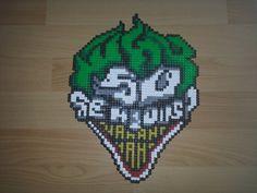 Wwhy so serious? Joker perler beads by pjurst