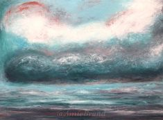 """""""Dreamtime"""" oil and cold wax on panel. Making happy sky's in the waiting for spring. Spring Art, Make Happy, Waiting, Wax, My Arts, Cold, Fine Art, Amazing, How To Make"""