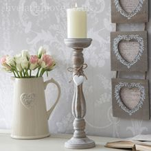 Tea lights and candle holders make a really pretty addition to any room. Live Laugh Love offer a very elegant range of tea lights and candle holders. Grey Candle Holders, Shabby Chic Candle Holders, Vintage Candle Holders, Tealight Candle Holders, Shabby Chic Candlesticks, Hanging Candles, Candle Lanterns, Shabby Chic Accessories, Ideas