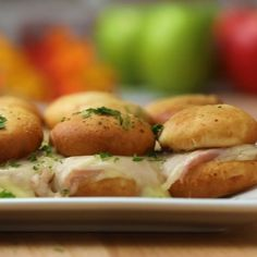 Try these delicious bites at home with some help from the kids! Made with Farm Rich Mozzarella Bites. Check out the recipe! Delicious Breakfast Recipes, Lunch Recipes, Dinner Recipes, Yummy Food, Sandwich Recipes, Buzzfeed Food Videos, Kids Meals, Easy Meals, Allergy Free Recipes