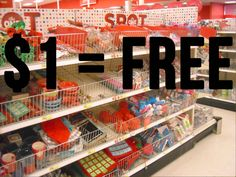 The $1 area is like whaaaaaaaaaaaaaaaaaat. | 15 Signs Your Love Of Target Is Spiraling Out Of Control