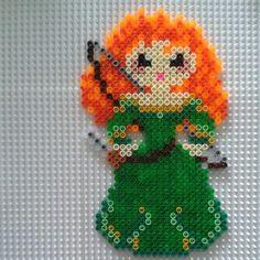 brave hama bead pattern | Merida Brave hama perler beads by dakorita94