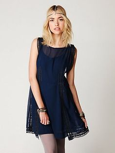 Free People modern day flapper dress. I can't get enough of dresses that are flowy and effortless!