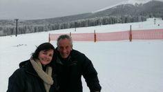 My friend Toni who took me skiing.