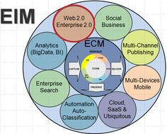 Web 2.0 and Enterprise 2.0 in EIM (Enterprise Information Management) Model