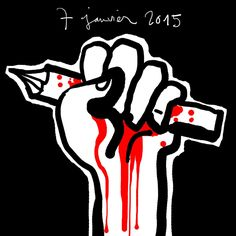 """7 janvier 2015 / January 7, 2015 #CharlieHebdo"""