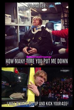 That's my brother for you-Adrianna And my wonderfully fearless boyfriend-scar Dean Ambrose Funny, Wwe Dean Ambrose, Wwe Facts, Funny Qotes, Wwe Quotes, Wrestling Memes, Roman Reigns Dean Ambrose, Wwe Funny, Wwe Superstar Roman Reigns