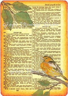 Image result for Psalm 139 printed on Parchment