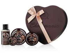 The Body Shop Chocomania Heart tin