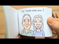 To use this video in a commercial player or in broadcasts, please email licensing@storyful.com This is one of my favorite flipbook ideas of all time.The cust...