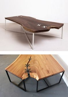 STITCHED TABLE by Uhuru Design