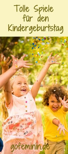 To make it an unforgettable birthday party: Great indoor and outdoor games - Kindergeburtstag - Kuchen Kids Spa, Baby Kids, Diy For Kids, Crafts For Kids, Games For Boys, Birthday Party Games, Party Party, Outdoor Games, Indoor Outdoor