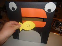 Pretty Cool Preschool: Feed the Penguin