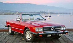 1980 Convertible Mercedes 450SL