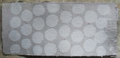 gray and white spotted Handmade PAPER Natural by UselessPaper, $6.00
