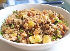 Lunch Recipes, Healthy Recipes, Polenta, Fried Rice, Quinoa, Salads, Yummy Food, Treats, Baking