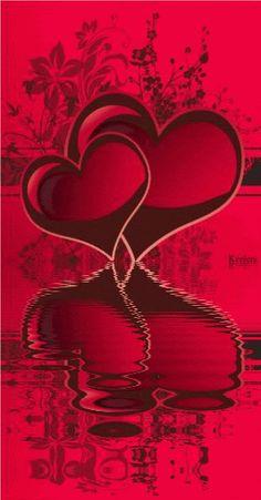 beautiful animated gif hearts.
