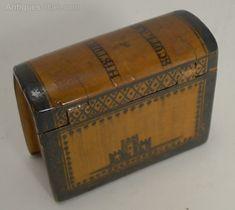 Antiques Atlas - Antique Scottish Book Form Snuff Box C.1840