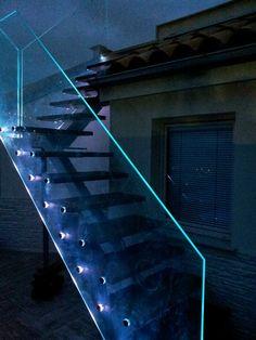 Best 7 Best Inox Stair Led Glass Cassetti Soluzioni Images 640 x 480