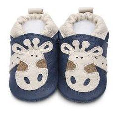 671c54bd53e94 Blue Giraffe ShooShoos Baby Boy Shoes