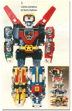 Voltron. I drooled, I pined, I wanted this toy soooo badly when I was a kid. Alas, it was never to be...