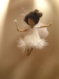 Needle felted fairies Waldorf inspired Three angels by DreamsLab3