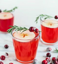 Make this Cranberry Apple Cider Punch for the holidays.